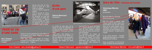 envie de la gare - expo photo